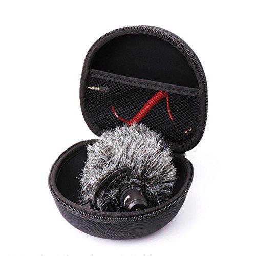 MASUNN Arimic Custodia Protettiva Portatile Hard Travel Scatola di Copertura per Rode Videomic Me Microfono