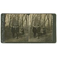 POSTER John Wilby Uncle Phil Mother Early twentieth-century portrait two boys identified and holding handle (Boy Wagon)