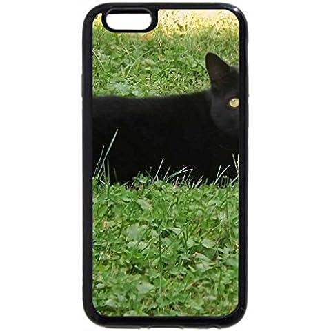 6S iPhone Plus-Custodia per iPhone 6 Plus, colore: nero, come carbone