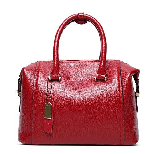 Eysee , Damen Clutch Rot schwarz 30cm*22cm*15.5cm rot