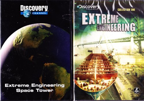 Preisvergleich Produktbild Extreme Engineering : 9 Episode Collection : Space Tower,  Widening the Panama Canal ,  Boston's Big Dig , Building Hong Kong's Airport , Tunneling Under the Alps , Iceland Tunnels , Container Ships , Oakland Bay Bridge , Venice Flood Gates : 2 Pack : 3 Disc Set