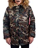 Alpha Industries Herren Parka oliv XL