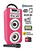 DYNASONIC Altavoz Karaoke Bluetooth 10W, Reproductor mp3 inalámbrico...
