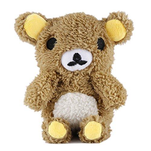 CaseforYou Stilvolle nette 3D Teddybär Puppe Spielzeug Plüsch Case Cover für iPhone 7 (Braun) S5 Teddybär