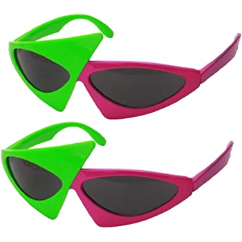 7935a1eaa5 IPOTCH 2x Novelty Roy Purdy Party Sunglasses Funny Eye Glasses Costumes  Photo Prop