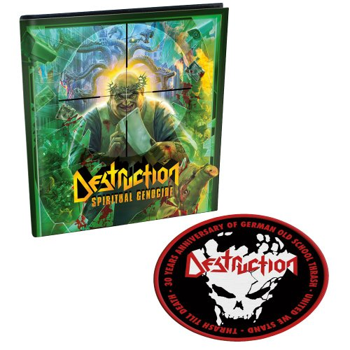 Destruction: Spiritual Genocide (Ltd. Digipak mit 2 Bonustracks und mit Patch) (Audio CD)