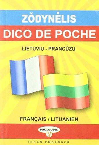 Dictionnaire de poche lituanien-français et français-lituanien par Isabelle Chandavoine