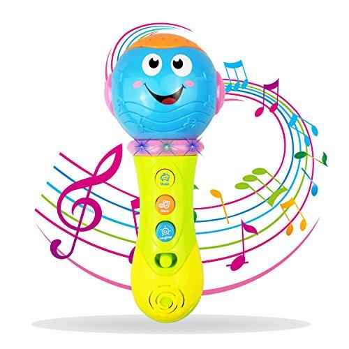 Baby Spielzeug 6-18 Monate, Spielzeug Mikrofon für 1-3 Jahre alt Baby Boy Mädchen Spielzeug 9-12 Monate Kleinkind Mikrofon für Kinder Geschenke für 3-24 Monate Baby Spielzeug für Geburtstagsgeschenkn