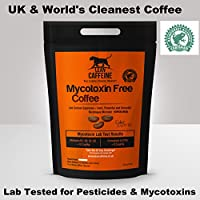 Lean Caffeine Bulletproof Coffee Ground Grounded Coffee 227g   Pesticide & Mycotoxin Free Upgraded Coffee Beans Ground