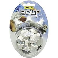Champ Bolt Footbal Studs - White