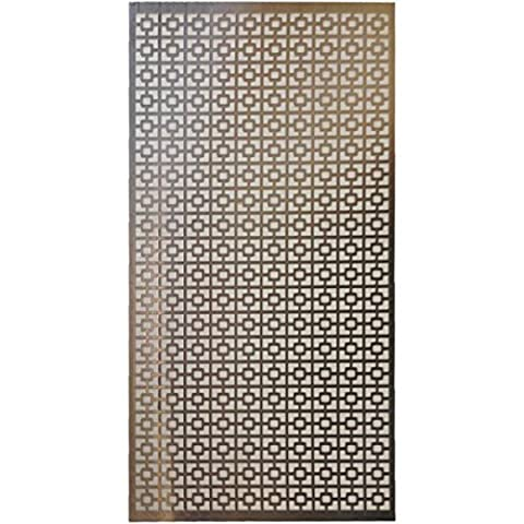M-D Hobby & Craft Aluminum Metal Sheet 12-inch x 24-inch, Chain Link
