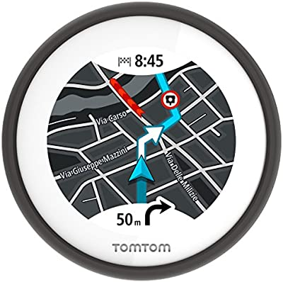 TomTom VIO [Versión Española]- Navegador GPS para Scooter, color negro