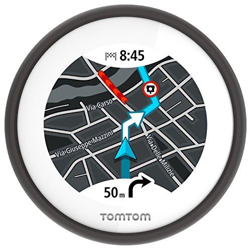 TomTom VIO - Navegador GPS para Scooter con mapas de Europa, Color...
