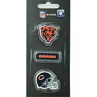NFL Football Chicago Bears dreiteiliges Pin Badge Set