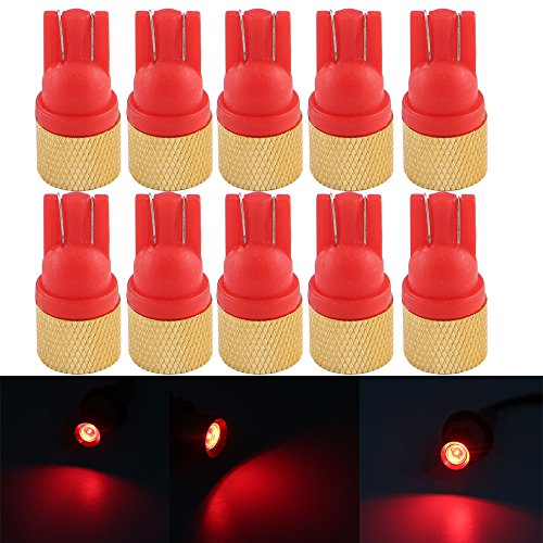 grandview-red-90-lumens-t10-wedge-w5w-2825-194-168-white-led-15w-12v-interior-car-light-bulbs-signal