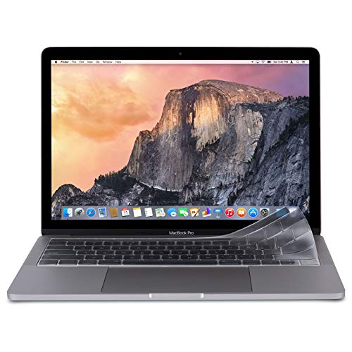 Moshi ClearGuard Air 13 Tastaturschutz für MacBook Air 33 cm (13 Zoll) (Thunderbolt 3 / USB-C) - EU-Layout - transparent