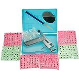 Kit Pistolet Gun Outil Piercing Perçage Oreille 3 types 294 Goujons 147 paires