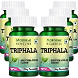 Morpheme Remedies Triphala 500mg Extract Supplements (60 Capsules) - Pack Of 6