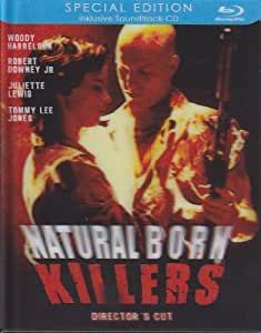 Natural Born Killers BLU-RAY Directors Cut incl. Soundtrack CD [Director's Cut] [Limited Edition]