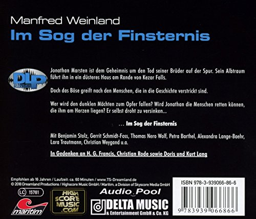 Dreamland-Grusel 35 – Im Sog der Finsternis: Dreamland Production - 2