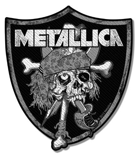 - Metallica Raiders Skull [toppa/toppa] toppa Metallica!
