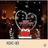 Togel Weihnachten Aufkleber Weihnachten Schneemann Removable Home Vinyl Fenster Wandaufkleber Aufkleber Dekor Rot Socke Weihnachten Hirsch Schmetterling Aufkleber Cartoons niedlich