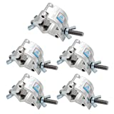 TRUSS clamp-jltph Heavy Duty 32–35 mm Stage Light Haken Klemme/Lautsprecher steht Moving Head Light PAR-Lampe Truss Klemmen/Aluminium finish 5 pack