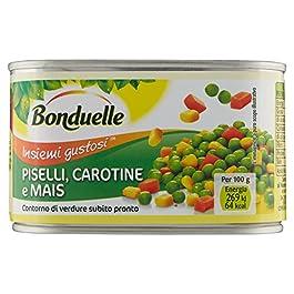 Bonduelle Piselli Carotine e Mais – 400 gr