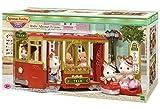 Sylvanian Families Le Tramway poupée et Accessoires, 6007, Multicolore