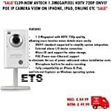 "CL39-AVTECH 1.3MP HDTV 720P 1/4 ""1280 * 1024 ONVIF POE IP MICROPHONE CCTV CAMERA IPHONE"