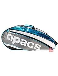 Apacs Ap2521double compartiment Sac de raquette