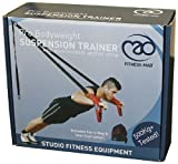 Fitness-mad Pro Bodyweight Portable Exercise Quality Workout Suspension Trainer