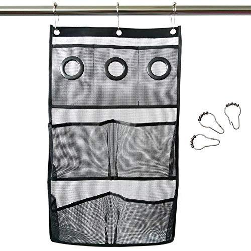 Liféup sacchetto appeso per il bagno portafogli sacchetto di immagazzinaggio cosmetico appeso a rete a tasca organizzatore per il bagno a secco