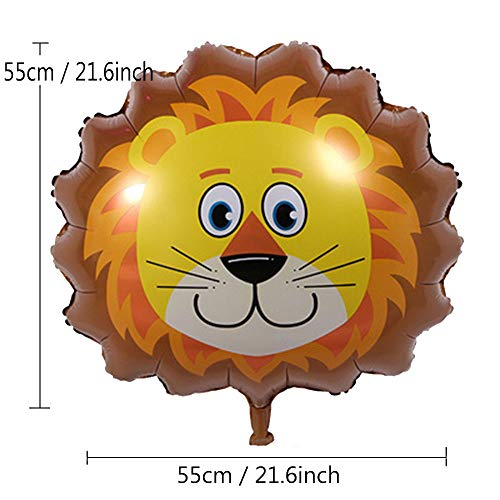 Zoom IMG-1 animale foglio di alluminio palloncino