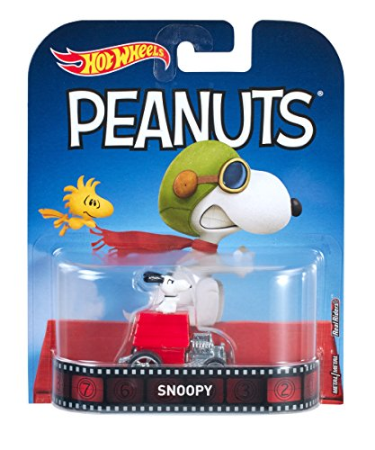 Hot Wheels Snoopy Fahrzeug (Dekorationen Wheels Hot)