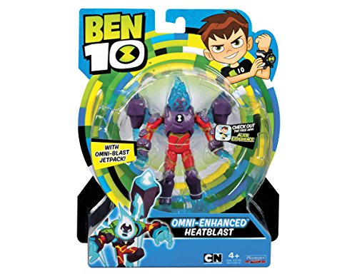 Ben 10 Action Figures Omni Enhanced Heatblast