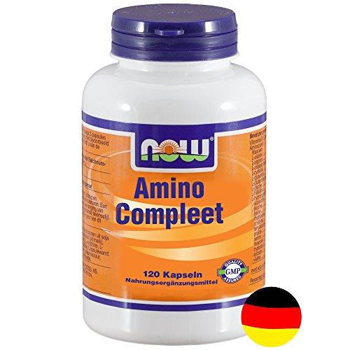 Amino Compleet [Amino Complete] 120 Kapseln NOW - Complete 120 Kapseln