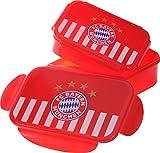 FC Bayern Brotdose 2er-Pack rot