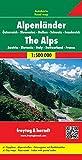 Alpenländer (A, CH, F, I, SLO), Autokarte 1:500.000, freytag & berndt Auto + Freizeitkarten - Freytag-Berndt und Artaria KG