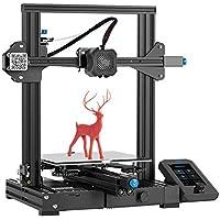 Creality Ender 3 V2 3D Printer, 2020 Newest FDM All Metal 3D Printers Kit with Upgraded Silent Motherboard, Carborundum…