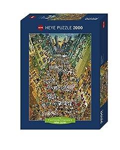 Heye Puzzle Classico-Protest Degano, VD-29820