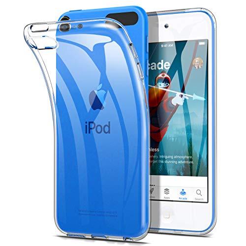 IVSO Hülle für iPod Touch 2019, Ultra Schlank Slim Schutzhülle Hochwertiges TPU Perfekt Geeignet für iPod Touch 2019, Clean - Ipod Touch Schutzhülle