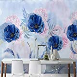 BHSWD HD Fleurs Fonds D'écran 3D Murales Photo Fonds D'écran pour Le Salon Canapé...