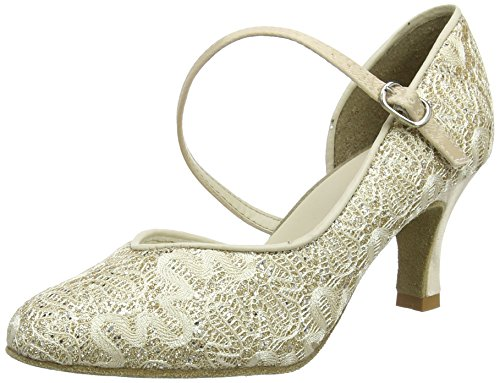 So Danca Damen Standard & Latein Tanzschuhe - Standard & Latein Bl504, Gold (Gold Sparkle), 38.5 EU (8.5 US)
