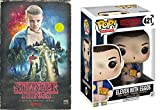 Stranger Things Funko Pop Eleven (with Eggos) #421 VHS Set Season 1 DVD Blu-Ray 4 Disc Box Special Edition 2-Pack Combo Bundle