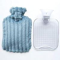 Preisvergleich für Wärmflasche mit superweichem Luxus-Plüschbezug | 1 Liter Wärmflaschen | Britisches Design, sicher und langlebig