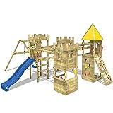 WICKEY Torre de escalada Smart Excalibur Parque infantil Castillo el juego con...