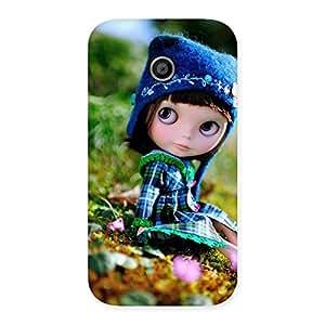 Impressive Kid Cute Multicolor Back Case Cover for Moto E