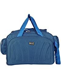 ce9063c9fe N Choice Unisex Polyester Waterproof Lightweight 40 L Luggage Travel Duffel  Bag with 2 Wheels (