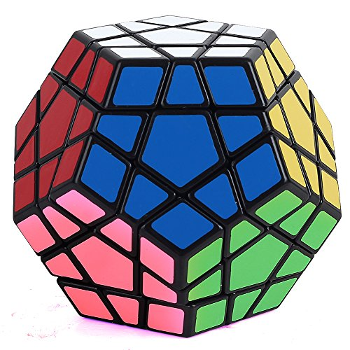 Dodecahedron Megaminx shaped puzzle educational toys